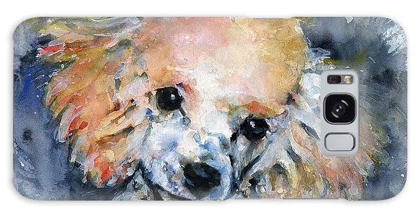 Toy Poodle Galaxy Case by John D Benson