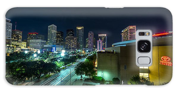Toyota Center And Downtown Houston Galaxy Case