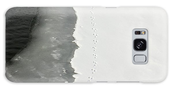 Tracks In The Snow Galaxy Case