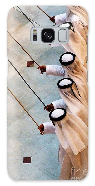 Traditional Emirati Men's Dance  Galaxy Case