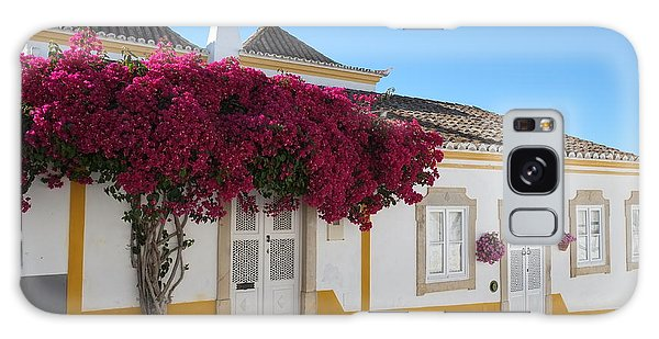 Traditional House Of Tavira. Portugal Galaxy Case