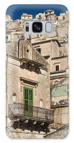 Traditional Houses Of Modica In Sicily Italy Galaxy Case