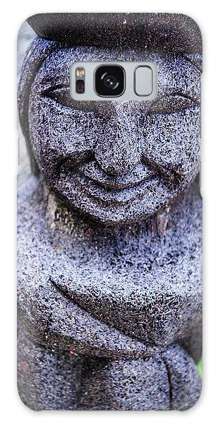 Basalt Galaxy Case - Traditional Ifugao Basalt Statues by Michael Runkel