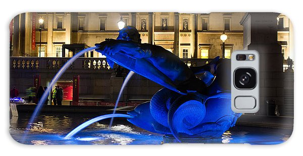 Trafalgar Square At Night Galaxy Case