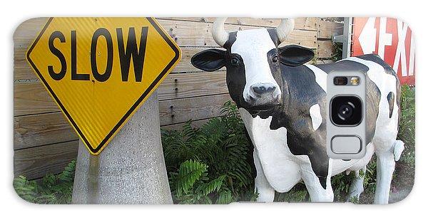 Traffic Cow Galaxy Case