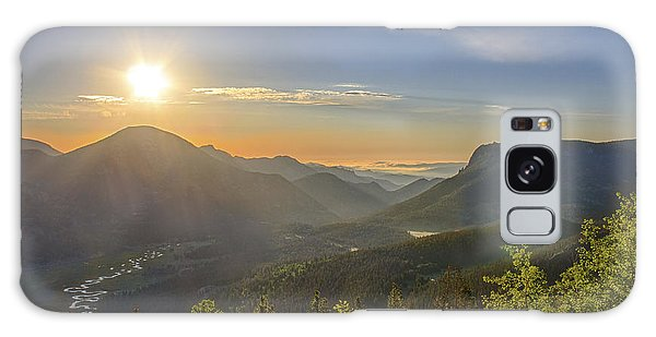 Trail Ridge Road Sunrise Galaxy Case
