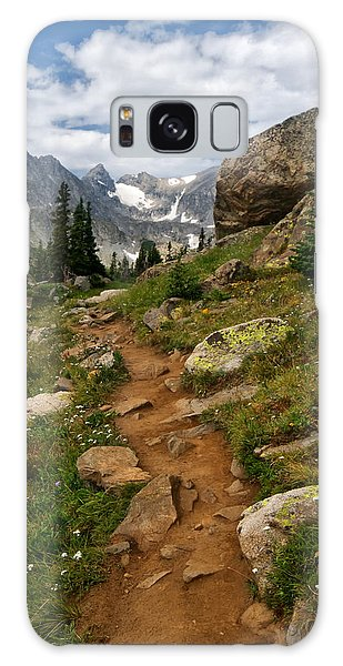 Indian Peaks Wilderness Galaxy Case - Trail To Lake Isabelle by Ronda Kimbrow