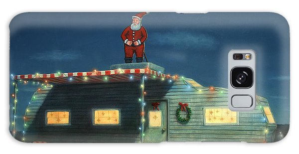Light Galaxy Case - Trailer House Christmas by James W Johnson