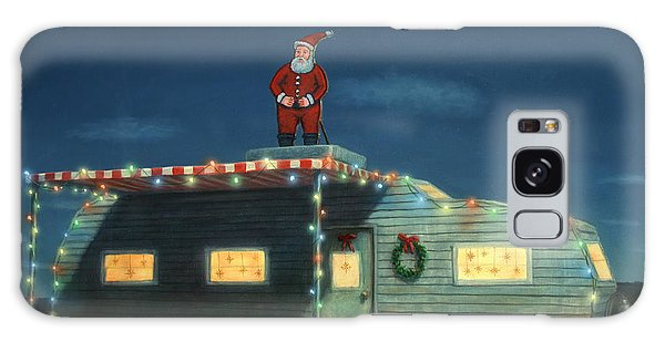 Trailer House Christmas Galaxy Case