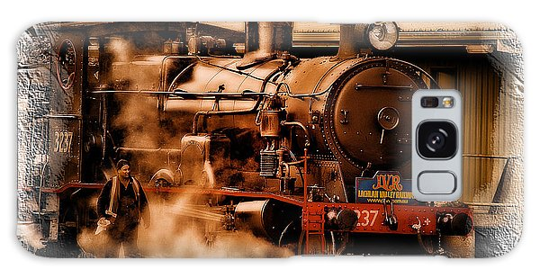 Train Art 3237 Galaxy Case by Kevin Chippindall