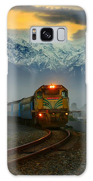 Train In New Zealand Galaxy Case