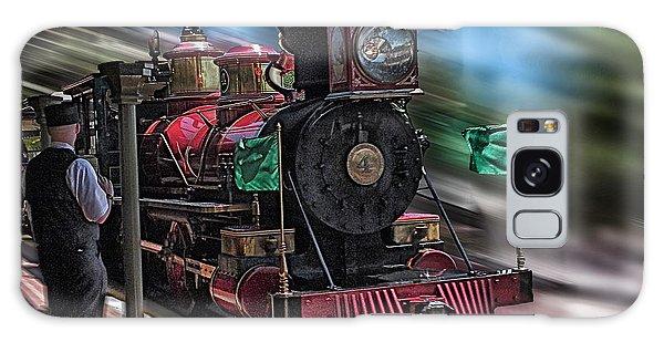 Train Ride Magic Kingdom Galaxy Case by Thomas Woolworth