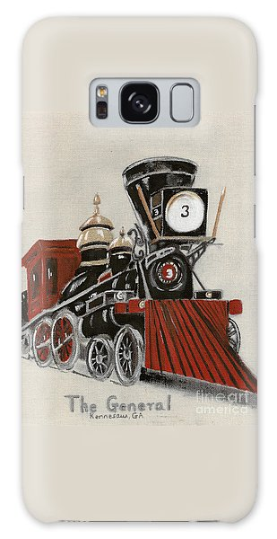 Train - The General -painted Galaxy Case