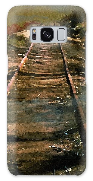 Train Track To Hell Galaxy Case by RC deWinter