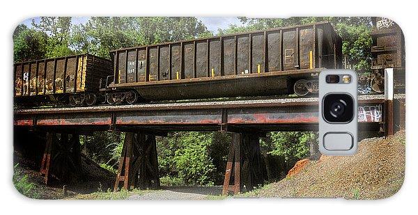 Train Trestle Galaxy Case by Davina Washington
