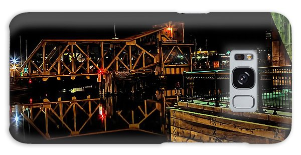 Train Trestle Viewed From Paul Revere Park  Galaxy Case by John Hoey