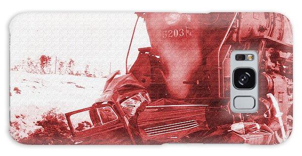 Train V Car Galaxy Case by R Muirhead Art