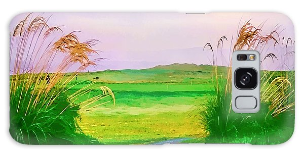 Tralee Ireland Water Color Effect Galaxy Case