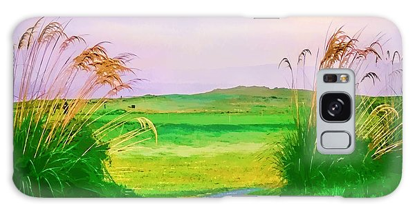Tralee Ireland Water Color Effect Galaxy Case by Tom Prendergast
