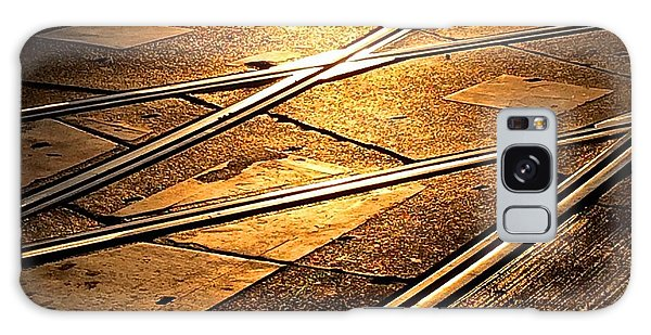 Tram Tracks Galaxy Case