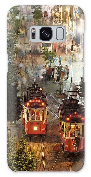 Trams In Beyoglu Galaxy Case