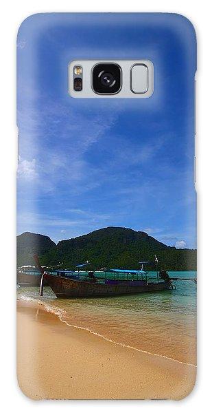 Phi Phi Island Galaxy Case - Tranquil Beach by FireFlux Studios
