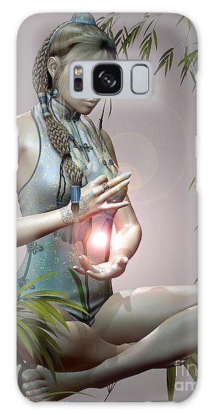 Tranquil Emotions Galaxy Case