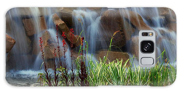 Tranquil Falls Galaxy Case by Robert Pilkington