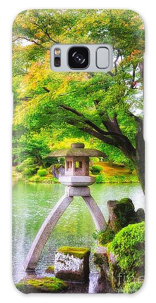Tranquil Japanese Garden - Kenrokuen - Kanazawa - Japan Galaxy Case