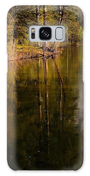 Tranquil Merced River Galaxy Case by Duncan Selby