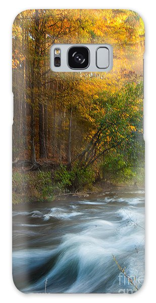 Tranquil Morning Galaxy Case by Iris Greenwell