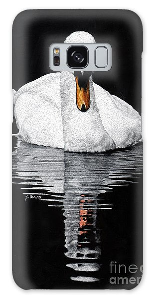 Tranquil Reflection Galaxy Case