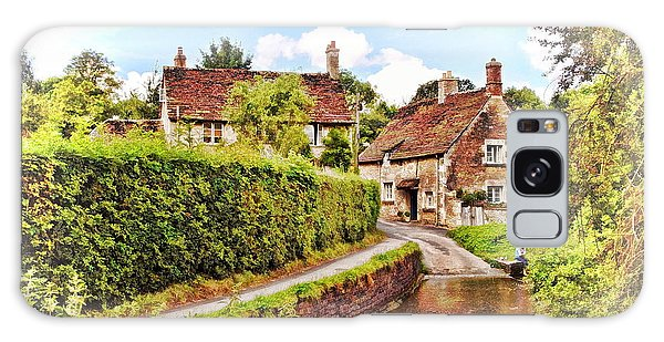 Tranquil Stream Lacock Galaxy Case