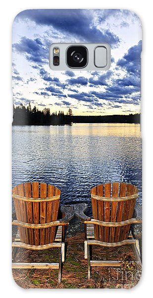 Adirondack Chair Galaxy Case - Tranquility At Sunset by Elena Elisseeva