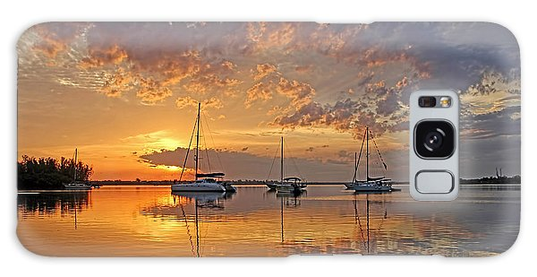 Tranquility Bay - Florida Sunrise Galaxy Case