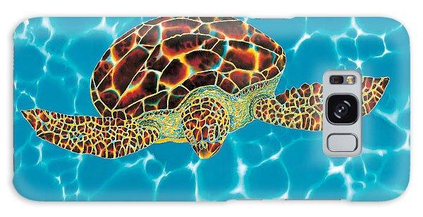 Caribbean Sea Turtle Galaxy Case