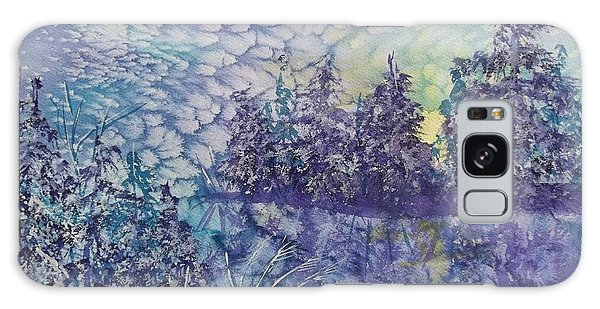 Tranquility Galaxy Case by Ellen Levinson