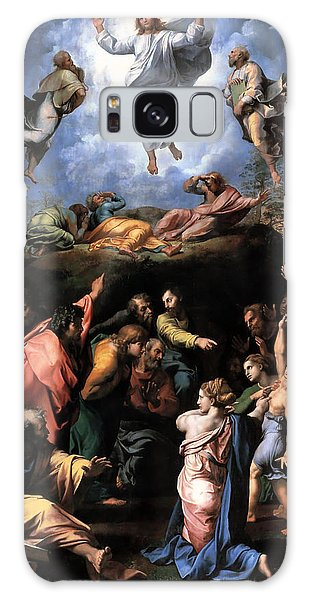 Transfiguration Reproduction Art Work Galaxy Case by Raphael