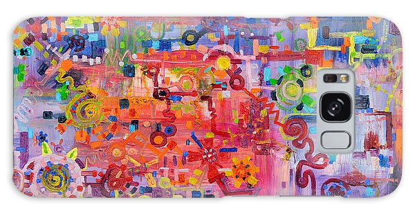 Transition To Chaos Galaxy Case by Regina Valluzzi