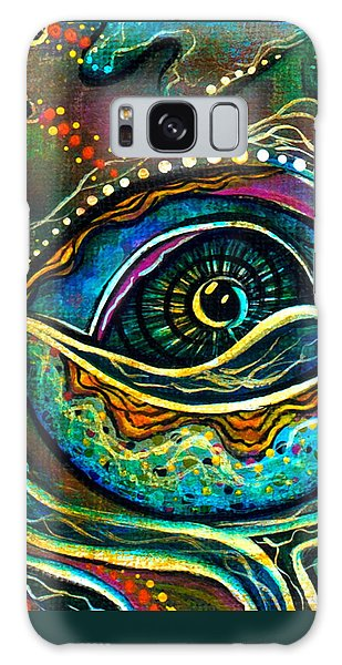 Transitional Spirit Eye Galaxy Case