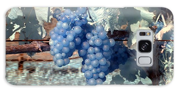 Transparent Grapes Galaxy Case by Rebecca Parker