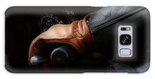 Leather Goes For A Ride Galaxy Case
