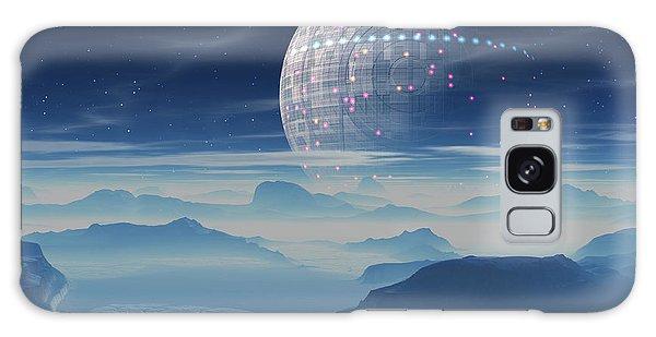 Tranus Alien Planet With Satellite Galaxy Case