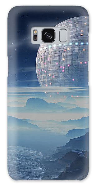Tranus Alien Planet With Satellite Galaxy Case