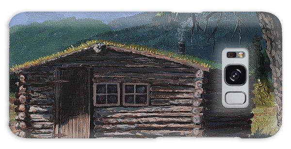 Trapper Cabin Galaxy Case
