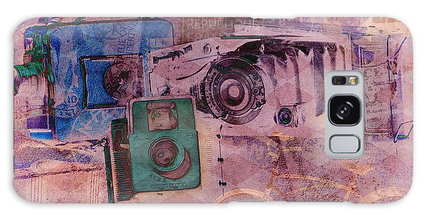 Travel Log Galaxy Case by Erika Weber