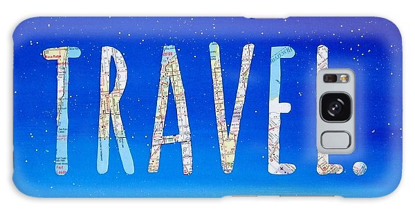 Travel Galaxy Case - Travel Word Art by Michelle Eshleman