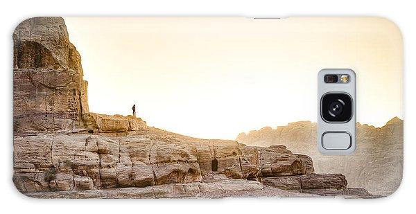 Desert Sunset Galaxy S8 Case - Traveler by Alexey Stiop