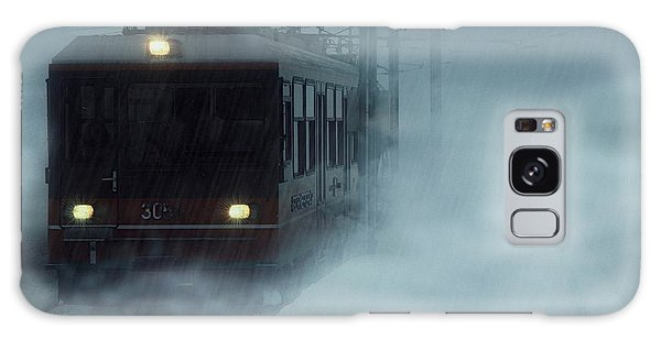 Traveling In The Snow... Galaxy Case