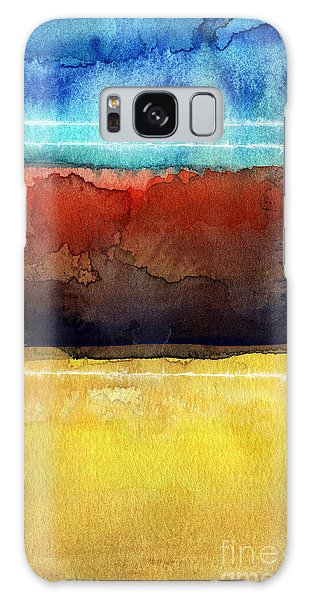 Abstract Landscape Galaxy Case - Traveling North by Linda Woods